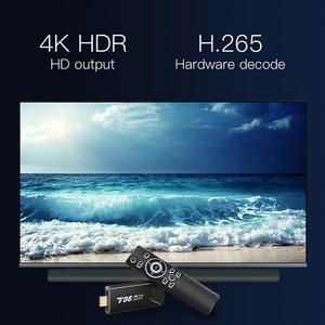 Image 2 - T98 MINI PC Dongle Miracast Bluetooth WIFI HDMI 4K Tv Stick Android 10,0 4G 32G Optional TV BOX