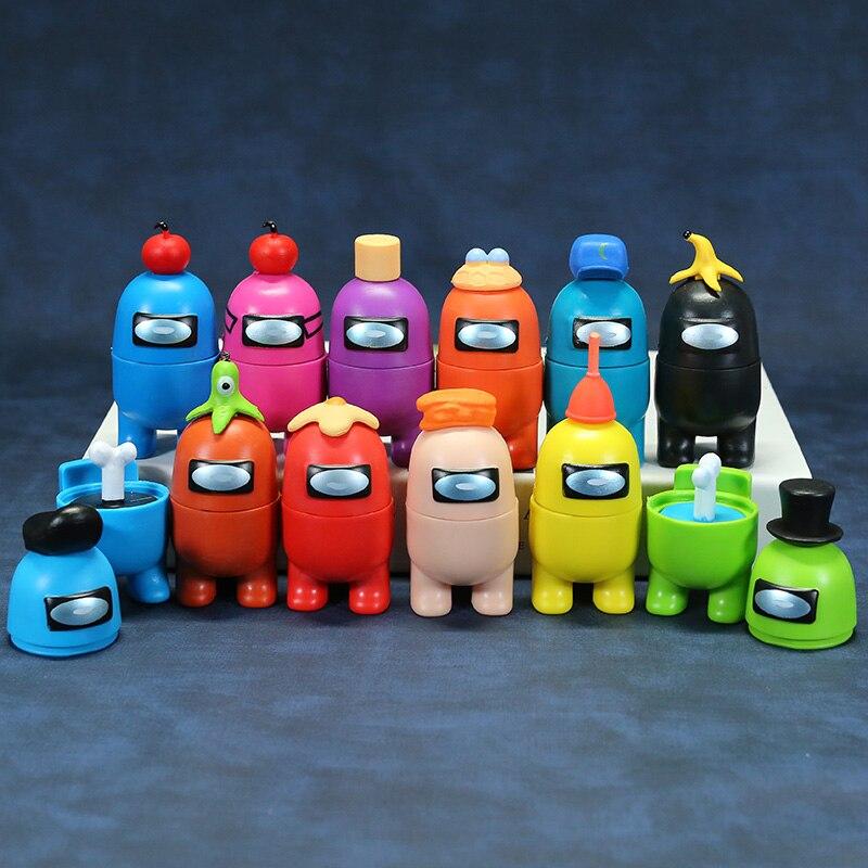 Among Us PVS Action Figures Kids Toy