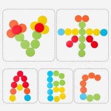 Цветная категория чашка детский сад настольная игра деревянные игрушки детские образовательные многофункциональные игрушки