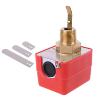 HFS 20/15/25 r3/4 interruptor de fluxo automático 15a 250 v ip54 do controle do sensor óleo líquido da água da pá Sensores de fluxo     -