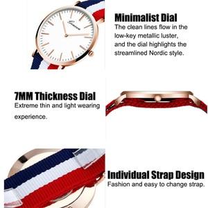 Image 4 - Casual Womens Watches Simple Thin Fashion Women Watch Luxury Quartz Wristwatch Ladies Clock Gift Relogio Feminino Reloj Mujer