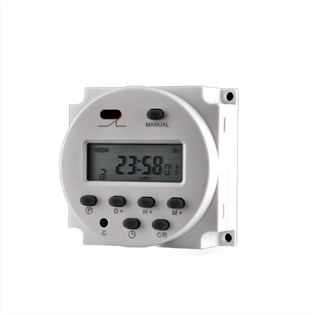 $ 23.39 Rechargeable Small microcomputer time control switch time control power timer for marine boat bus truck