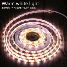 Sensor Led Strip Light Cabinet Light Strip Switch Night Light DIY Closet Kitchen Wardrobe Lamp Wireless Lights Led Bedroom Light(China)