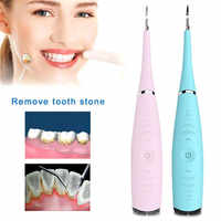 Portátil eléctrico sónico Ultra sónico escalador Dental manchas de dientes Tartar Usb de carga dientes removedor de cálculo Dental herramienta de blanqueamiento