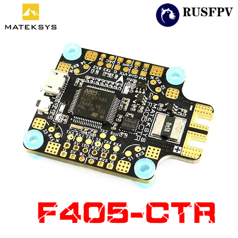Matek Systems BetaFlight <font><b>F405</b></font>-<font><b>CTR</b></font> <font><b>F405</b></font> Flight Controller Built-in PDB OSD 5V/2A BEC Current Sensor for RC FPV Racing Drone image