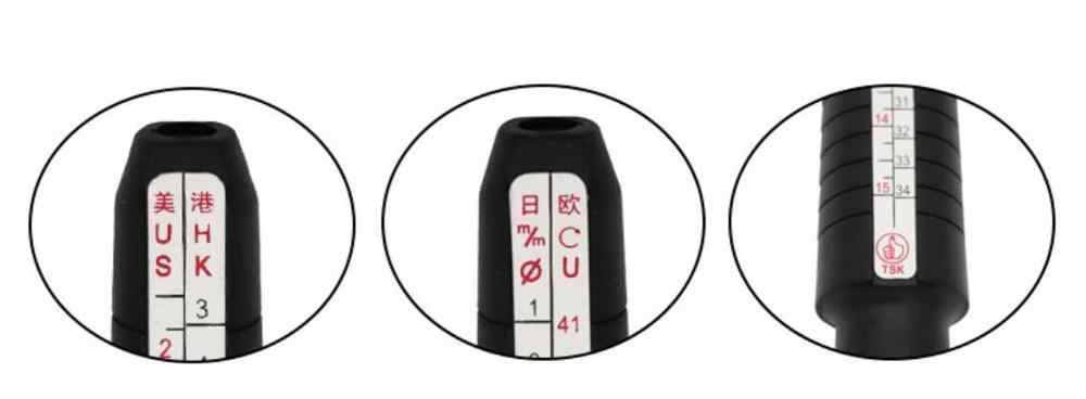 Narzędzia jubilerskie rozmiar pierścienia trzpień Stick Finger opaska pomiarowa Sizer pomiar narzędzie jubilerskie pierścionek zestawowy rozmiar modna biżuteria narzędzia jubilerskie