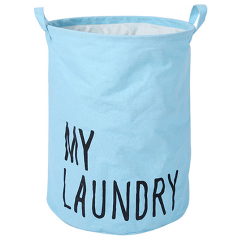 Home Collapsible Laundry Basket Child Toy Storage Laundry Bag for Dirty Clothes Hamper Organizer Laundry Bucket Laundry Baskets     - title=