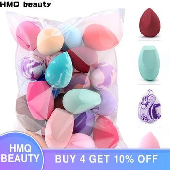 10/20 Pcs Soft Mix Color Makeup Sponge Face Beauty Cosmetic Powder Puff  For Foundation Cream Concealer Make Up Blender Tools o two o 1pcs makeup sponge puff egg face foundation concealer cosmetic powder make up blender blending sponge tools accessories