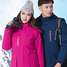 Smart-Heating-Jackets Cloth Ski-Suits Waterproof Women New for And Graphene Electric-Heating
