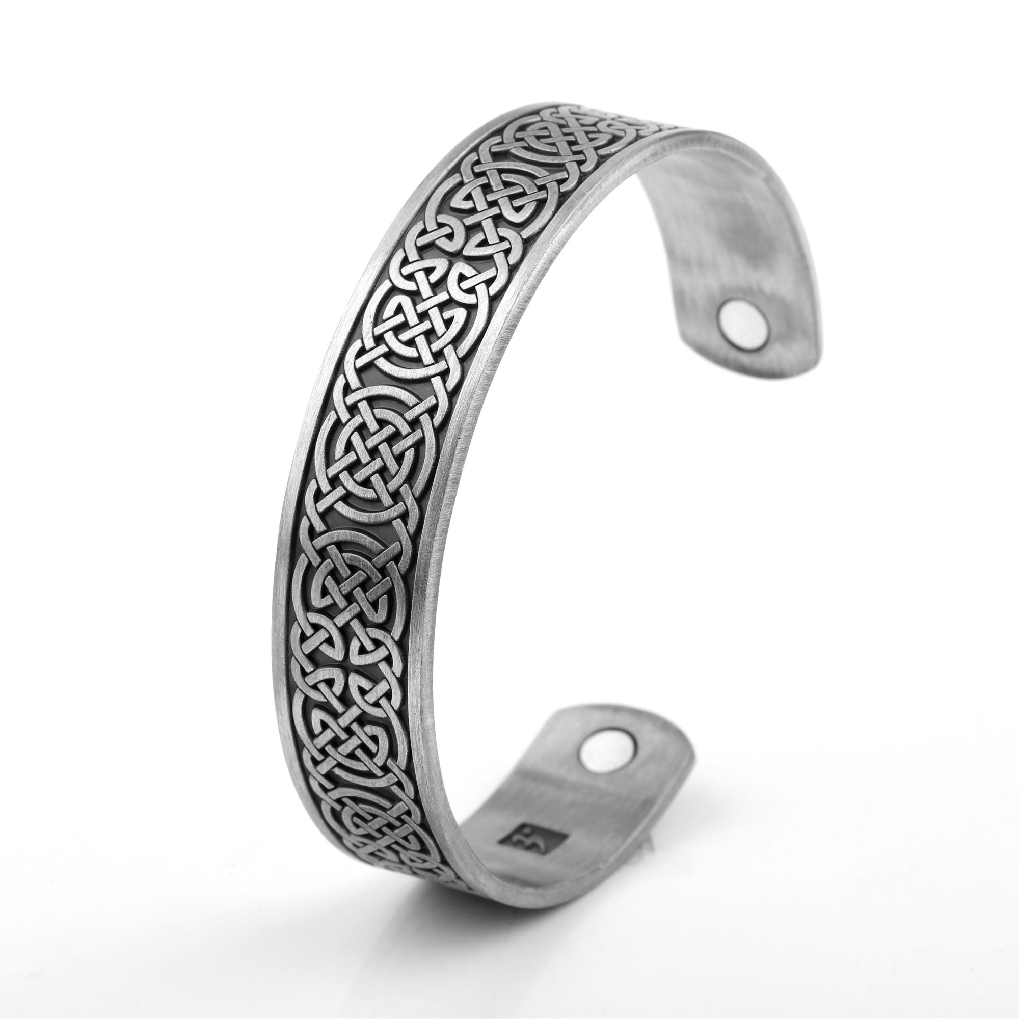 Bracelet viking magnetique contre symptômes Migraines Fatigue  3