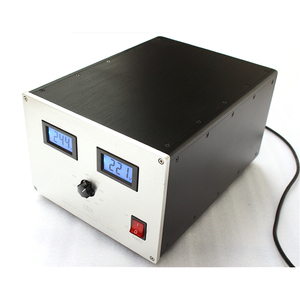 Self-regulated isolation transformer, dual 500W 215V to 250V output 220 and 110 audio stabilized power supply
