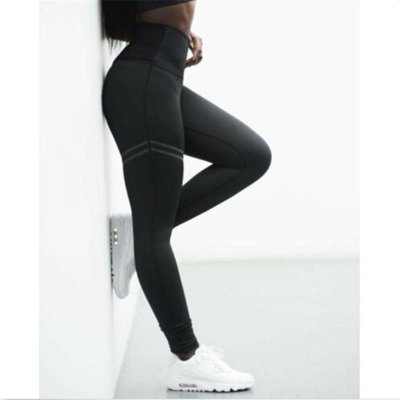Women Capri YOGA Workout Run Gym Sport Pants Leggings Fitness Athletic Jumpsuit