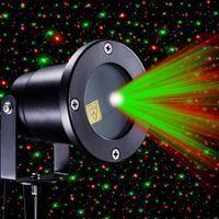 Xmas etapa LED jardín láser control RC Luz de Navidad césped IP68 proyector UK Iluminación de paisaje exterior     -