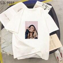 Ariana Grande Print Tshirt Casual Harajuku Shirt White Summe
