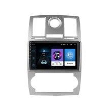 For Chrysler Aspen 300C 2004-2011 2 Din 2.5D 9 Inch Android Car Multimedia Video Player Audio FM BT GPS Navigation Head Unit