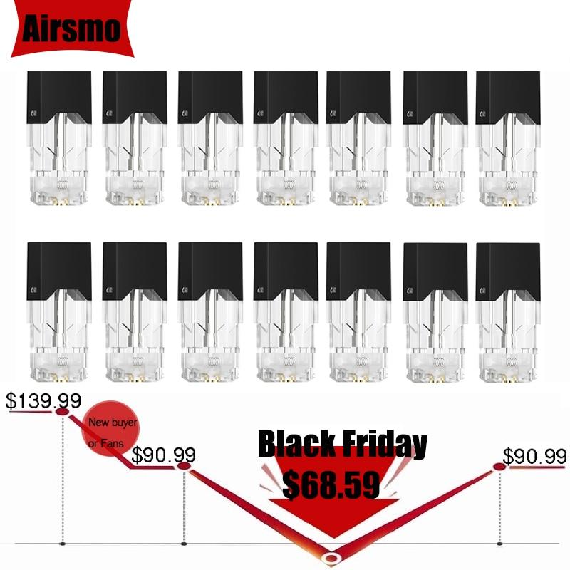 100 шт. картридж электронной сигареты для JUUL Pods View Tank распылитель для электронных сигарет стручки Vape картридж стартовый комплект оптовая про...