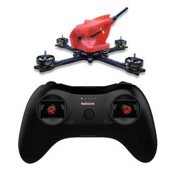 FullSpeed NameLessRC PowerStick 110mm Wheelbase 3-4S FPV Racing Drone Quadcopter RTF with T8S Remote Controller Nano2 Camera