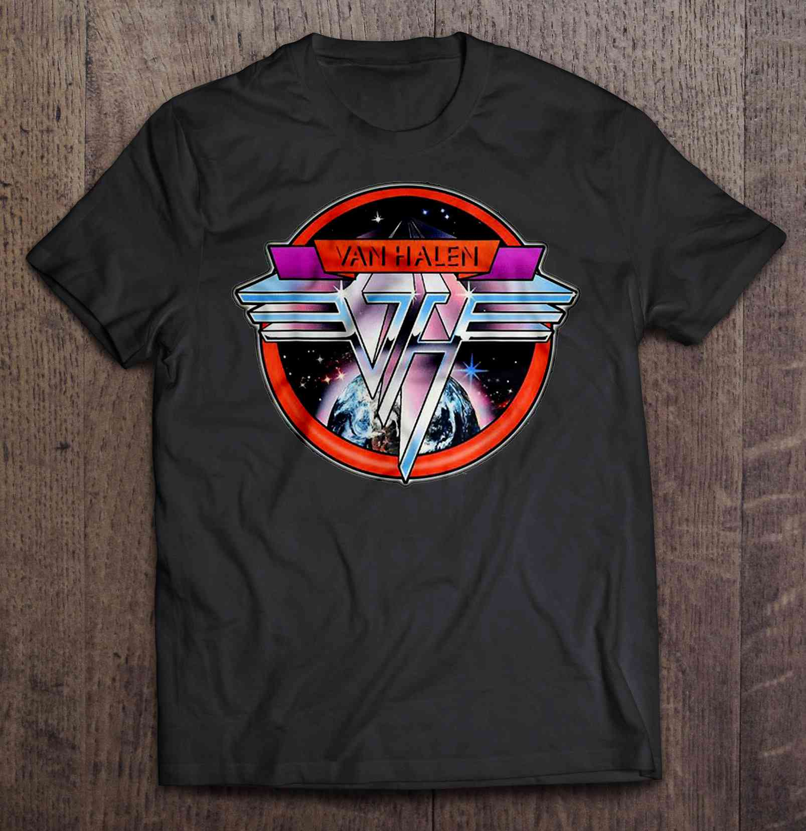 Van Halen Space Logo Version Tshirts