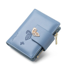 Wallet Trifold Female Purse Butterfly Small Fashion Cute Coin-Pocket Brand-Designer Women