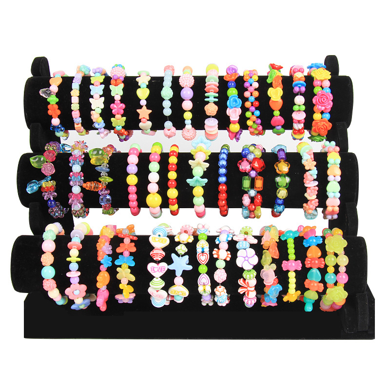 Educational Bead Toy DIY Children Hand-made GIRL'S Wear Beads Bracelets Necklace Material Box Pounds And Loose Beads