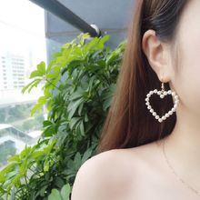 Корейские золотые ювелирные изделия милые инкрустированные жемчужные