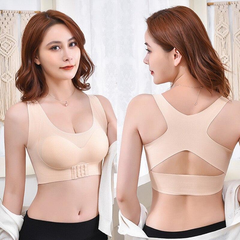 Для женщин корсет для спины Поддержка ремень ортопедической спинкой осанки Корректор осанки плеча Корректор выпрямитель спины Body Shaper