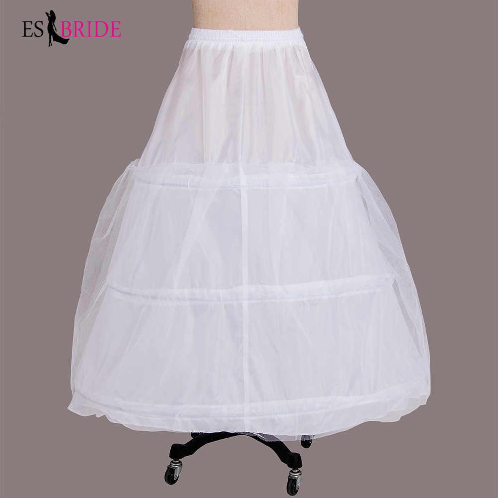 Liquidación sal Real Picture Girls falda de boda enagua Crinoline Vintage Slip Underskirt vestido de novia aro accesorios de boda