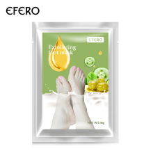 EFERO Feet Mask Exfoliating Foot Mask Socks for Pedicure Peeling Dead Skin Remover Feet Mask Peel 1X TSLM1