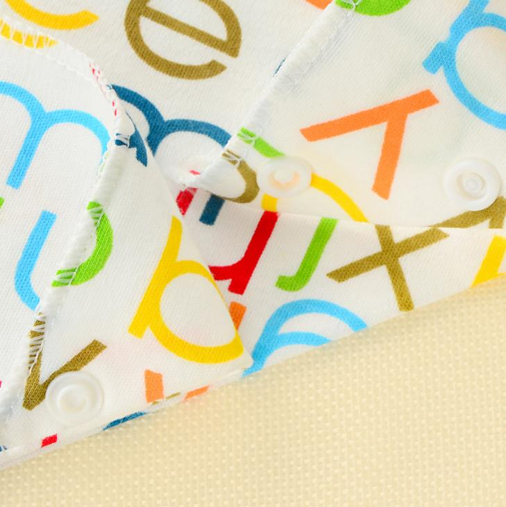 Baby Bibs Waterproof Triangle Cotton Cartoon Child Baberos Bandana Bibs Babador Dribble Bibs Newborn Slabber Absorbent Cloth 4