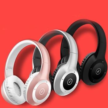 subwoofer stereo headset hifi sports folding card wireless headset 4.0