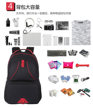 14W Solar Backpack Casual Travel Outdoor Computer Phone USB Charging Bag Solar Powered Designer Bagpack Solar Charger Daypacks 6