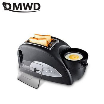 DMWD Multifuntion Breakfast Maker Bread Toaster Steam Egg Sandwich Maker Electric Oven For Household 220V 1