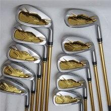 Clube de golfe masculino ferros conjunto honma bere is 05 quatro estrelas conjunto de clube de golfe (10 peças) clube de golfe eixo de grafite frete grátis