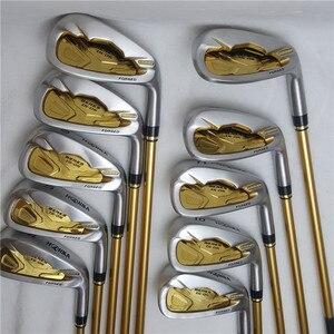 Image 1 - Mens Golf Club Irons set Honma Bere IS 05 four star golf club set (10 pieces) Golf Club graphite shaft free shipping