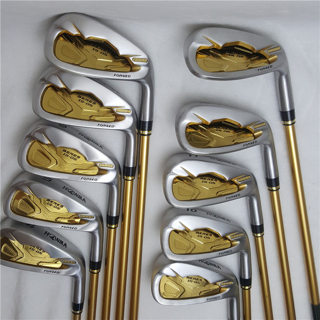 Mens Golf Club Irons set Honma Bere IS 05 four star golf club set (10 pieces) Golf Club graphite shaft free shipping