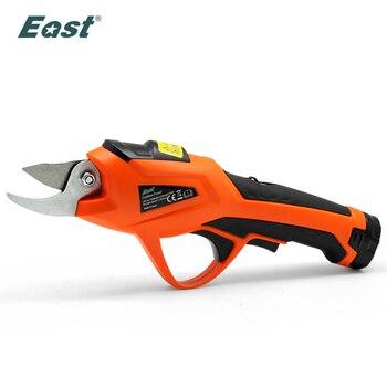 East Electric Pruner 3.6V Li-ion Cordless Pruning Shears Secateur Branch Cutter Fruit Garden Power Tool ET1505 - discount item  25% OFF Garden Tools