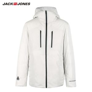 Image 5 - JackJones Mens Winter Casual Bright Colour Hooded Down Jacket Sports 218312532