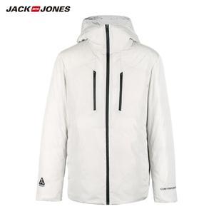 Image 5 - JackJones de invierno de los hombres casual brillante color con capucha por la chaqueta de deportes 218312532