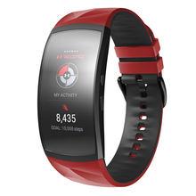 Anbest compatível para samsung gear apto 2 pro cinta silicone pulseira de relógio de fitness para samsung gear apto 2 pro SM-R360 assista band