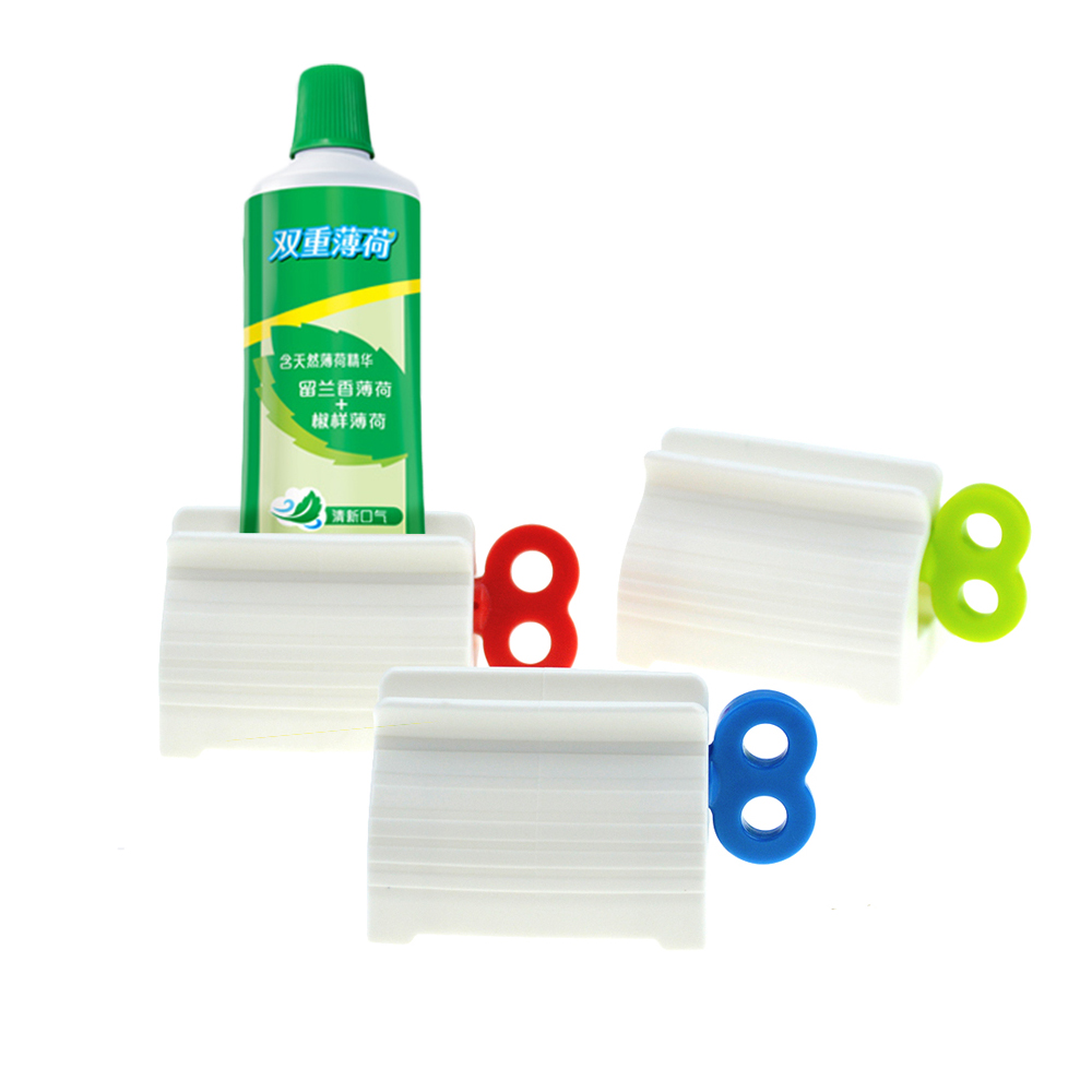 Image 4 - Multi Function Toothpaste Squeeze Facial Cleanser Squeeze Manual Toothpaste Clip Cleaning Supplies Toothpaste Companion Squeezer-in Toothpaste Squeezers from Home & Garden