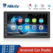 Hikity Android Car Radio Stereo GPS Navigation Bluetooth wifi Universal 7'' 2din Multimedia Player for VW Nissian Toyota Kia
