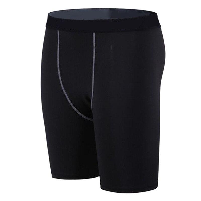 Мужские компрессионные короткие колготки для бега, мужские быстросохнущие спортивные Леггинсы для фитнеса, шорты для бега, мужское нижнее ...