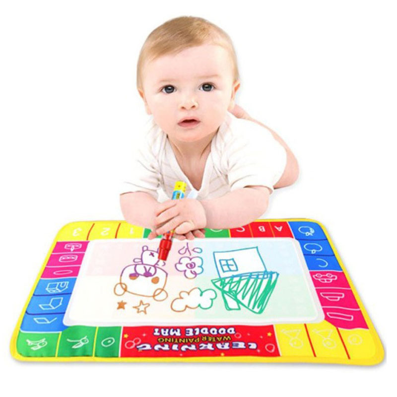 Drawing Toys Water Drawing Mat 20 * 30 CM Board Painting and Writing With Magic Pen Non-toxic Drawing Board for Kids