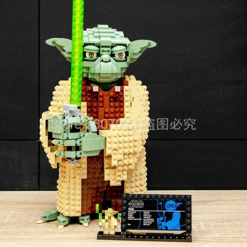 81099 Star Wars Movie Series Yoda Building Blocks 1771pcs Bricks Kids Model Toys Sets Compatible Star Wars 75255 In Stock