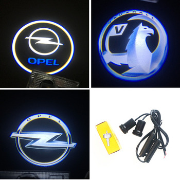2X Laser Logo Projector LED Car Door Light For Opel Astra H G J Corsa D C B Zafira Vectra C Mokka Vectra Omega Vivaro Omega фото