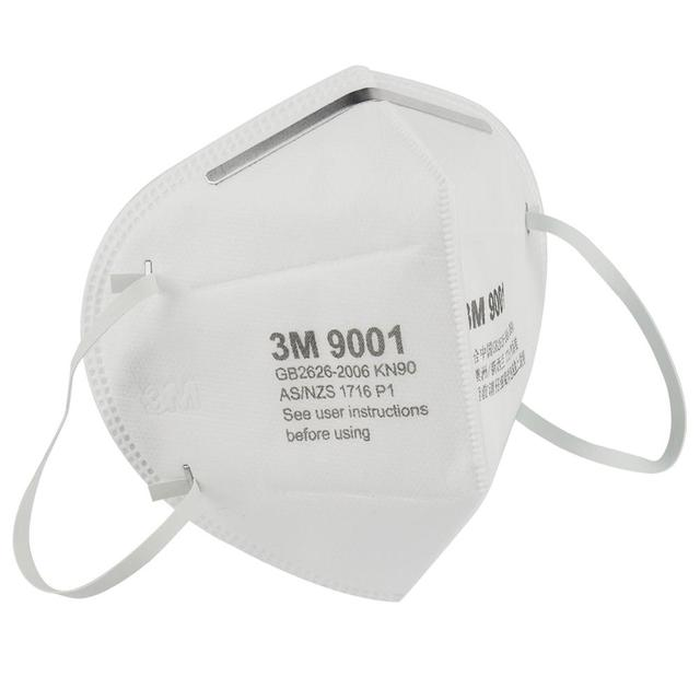 10pcs 3M 9001/9501 Mask Mascarillas Respirator Disposable Face Mask Particulate Protective Mouth Masks anti PM2.5 Dust Mask 2