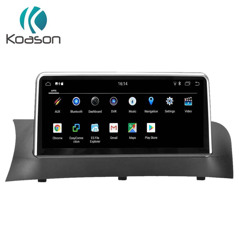 <font><b>10.25</b></font> inch touch Screen Android ID7 Car Radio Multimedia Player For <font><b>BMW</b></font> X3 F25 X4 F26 2013-2017 GPS Navigation Multimedia image