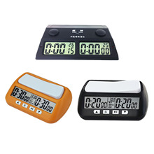 Chess Clock Board Games Digital Watch Count Up Down Timer Digital Chess Timer With Alarm Function Competition Board Game Clock