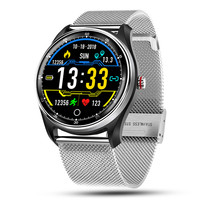 MX9 Bluetooth Smart Watch Men ECG Heart Rate Monitor Blood Pressure Smart Wristband Fitness Tracker IP68 for Andriod Ios Phone