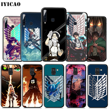 IYICAO Attack on Titan cool Soft Case for Samsung Galaxy
